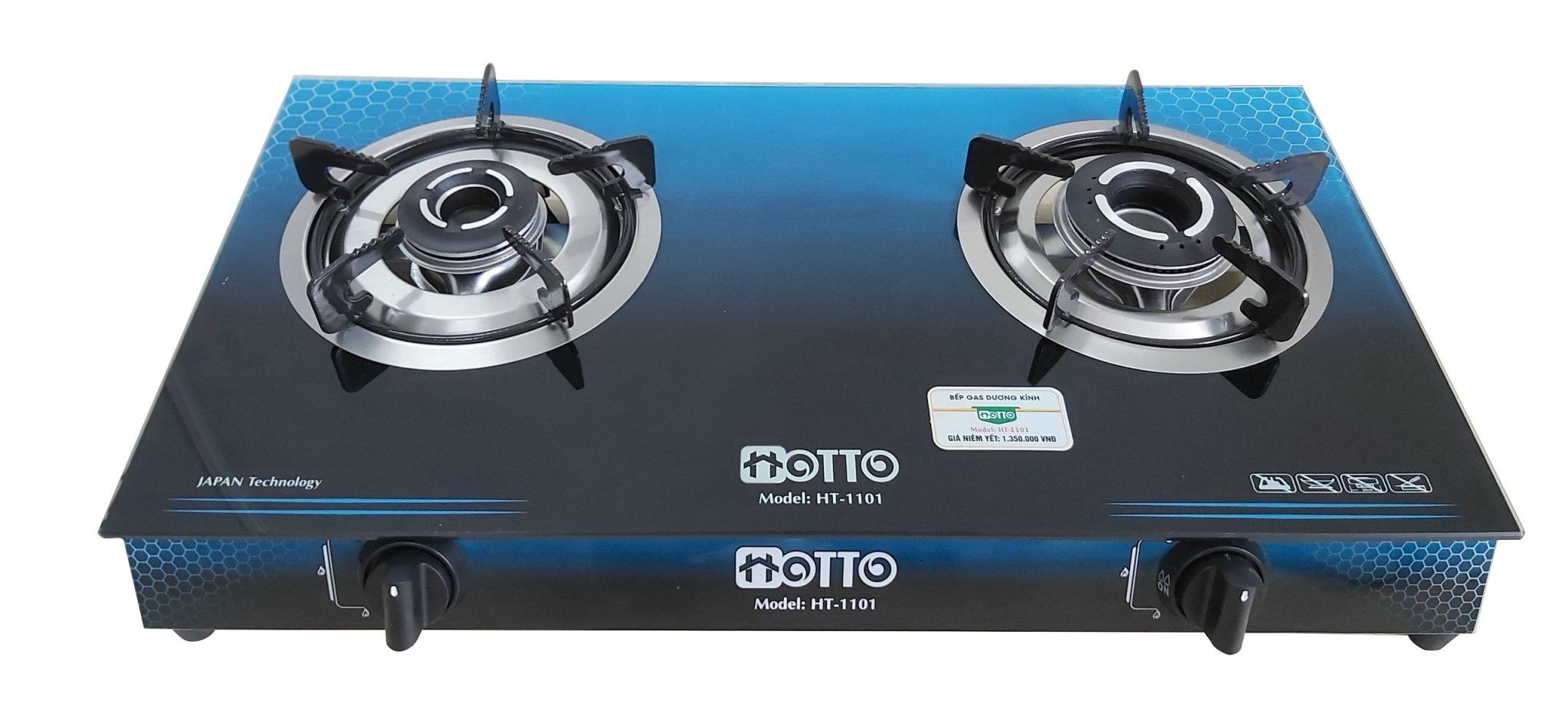 Bếp gas dương kính HOTTO model HT-1101