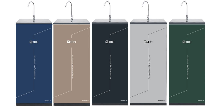 Máy lọc nước 10 cấp xử lý đá vôi HOTTO